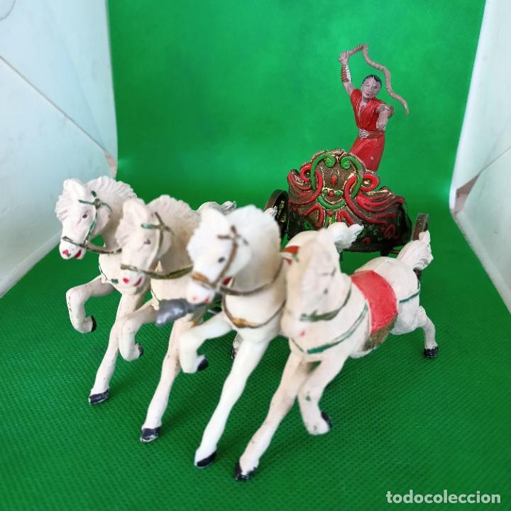 Figuras de Goma y PVC: REAMSA SERIE BEN HUR CUADRIGA BEN-HUR - Foto 2 - 254167880