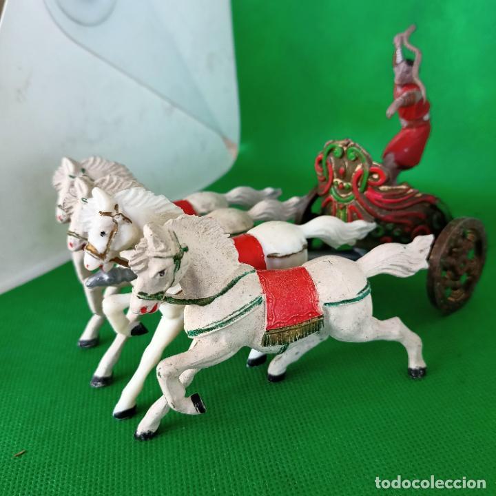 Figuras de Goma y PVC: REAMSA SERIE BEN HUR CUADRIGA BEN-HUR - Foto 3 - 254167880
