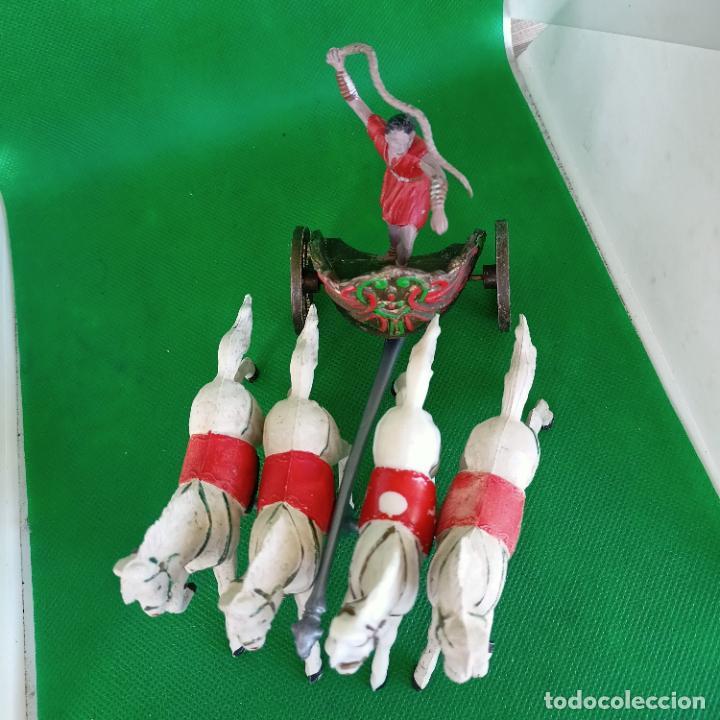 Figuras de Goma y PVC: REAMSA SERIE BEN HUR CUADRIGA BEN-HUR - Foto 4 - 254167880