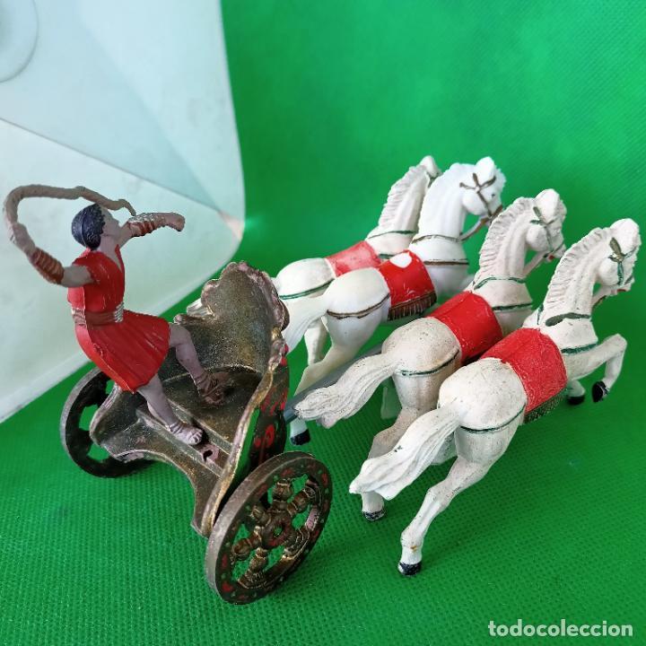 Figuras de Goma y PVC: REAMSA SERIE BEN HUR CUADRIGA BEN-HUR - Foto 6 - 254167880