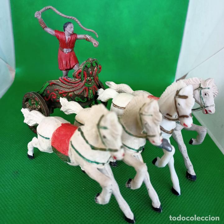 Figuras de Goma y PVC: REAMSA SERIE BEN HUR CUADRIGA BEN-HUR - Foto 8 - 254167880