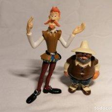 Figuras de Borracha e PVC: COMICS SPAIN COLECCION DON QUIJOTE Y SANCHO DE PIE SIN PEANA. Lote 254180730