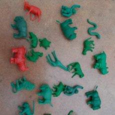 Figuras de Goma y PVC: FIGURAS DUNKIN LOTE ANIMALES .. Lote 254206535