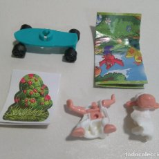 Figuras Kinder: KINDER PASCUA 2021 MUÑECO ANIMAL BOSQUE COMPLETO BPZ PAPEL FIGURITA VV ANIMALITO OVEJA 394 NUEVO. Lote 254362925