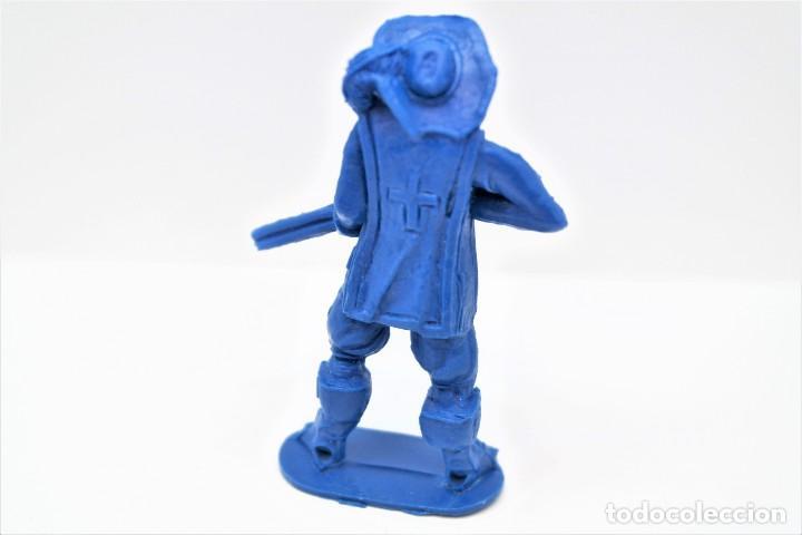 Figuras de Goma y PVC: Antigua Figura en Plástico. Serie Mosqueteros. Años 70. - Foto 2 - 254400330