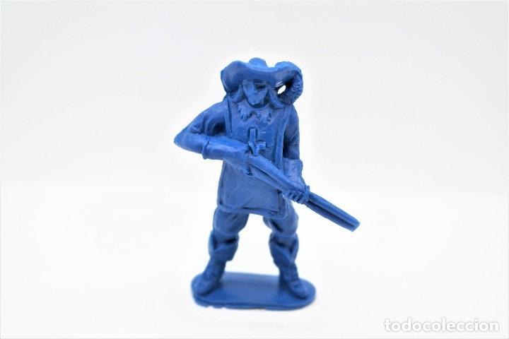 Figuras de Goma y PVC: Antigua Figura en Plástico. Serie Mosqueteros. Años 70. - Foto 3 - 254400330