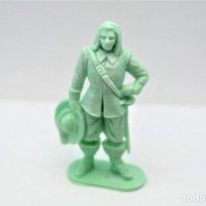 Figuras de Goma y PVC: ANTIGUA FIGURA EN PLÁSTICO. SERIE MOSQUETEROS. AÑOS 70.. Lote 254400695