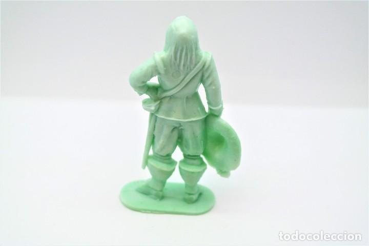 Figuras de Goma y PVC: Antigua Figura en Plástico. Serie Mosqueteros. Años 70. - Foto 2 - 254400695
