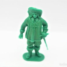 Figuras de Goma y PVC: ANTIGUA FIGURA EN PLÁSTICO. SERIE MOSQUETEROS. AÑOS 70.. Lote 254400905