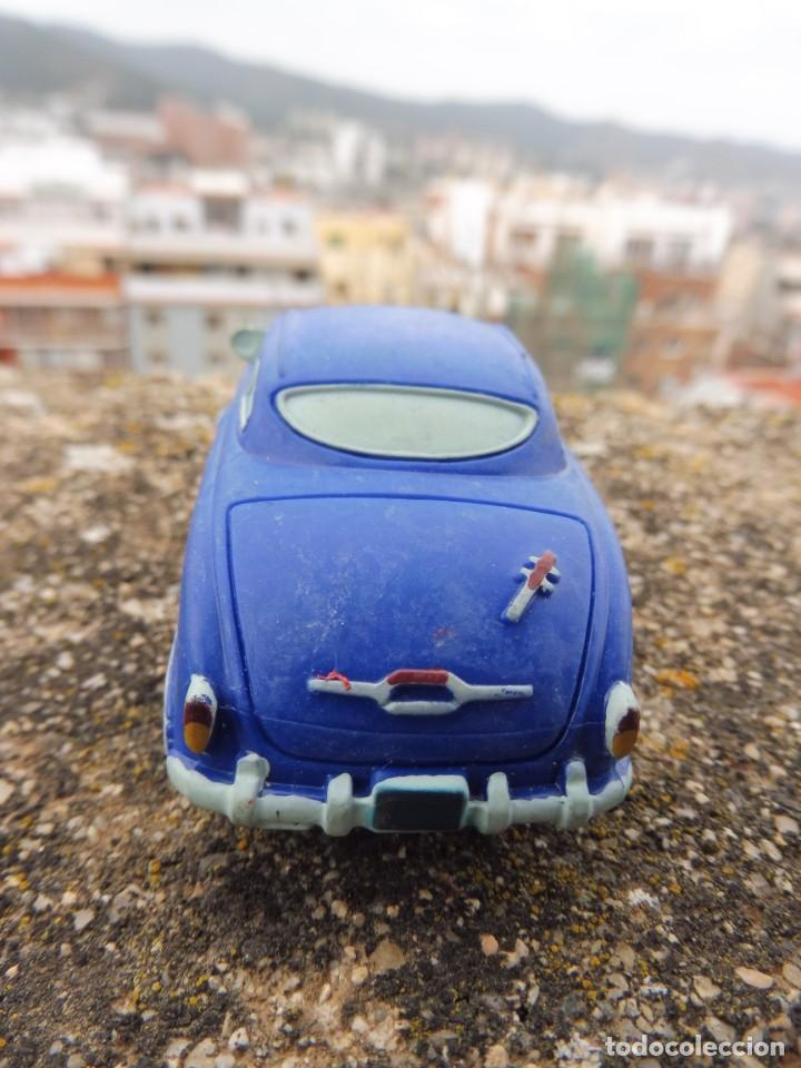 Figuras de Goma y PVC: Bullyland figura goma pvc Disney Pixar Cars coche Doc Hudson con etiqueta (2) - Foto 3 - 254422185