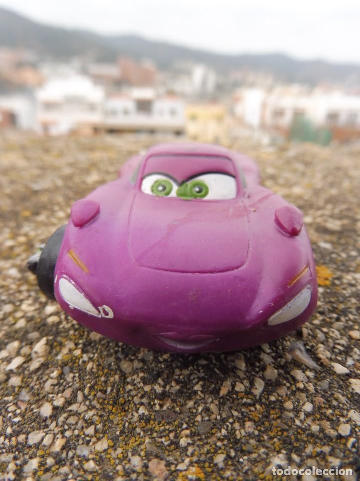 BULLYLAND FIGURA GOMA PVC DISNEY PIXAR CARS COCHE HOLLEY SHIFTWELL CON ETIQUETA (Juguetes - Figuras de Goma y Pvc - Bully)