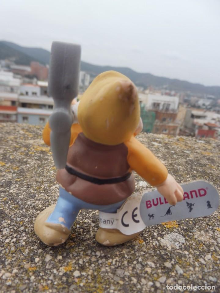 Figuras de Goma y PVC: Bullyland disney enanito pico bonachón Blancanieves con etiqueta (2) - Foto 4 - 254430775