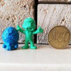 Figuras de Goma y PVC: DUNKIN DORAEMON NOBITA KAUGUMMI FIGUREN AÑOS 70. Lote 254446830