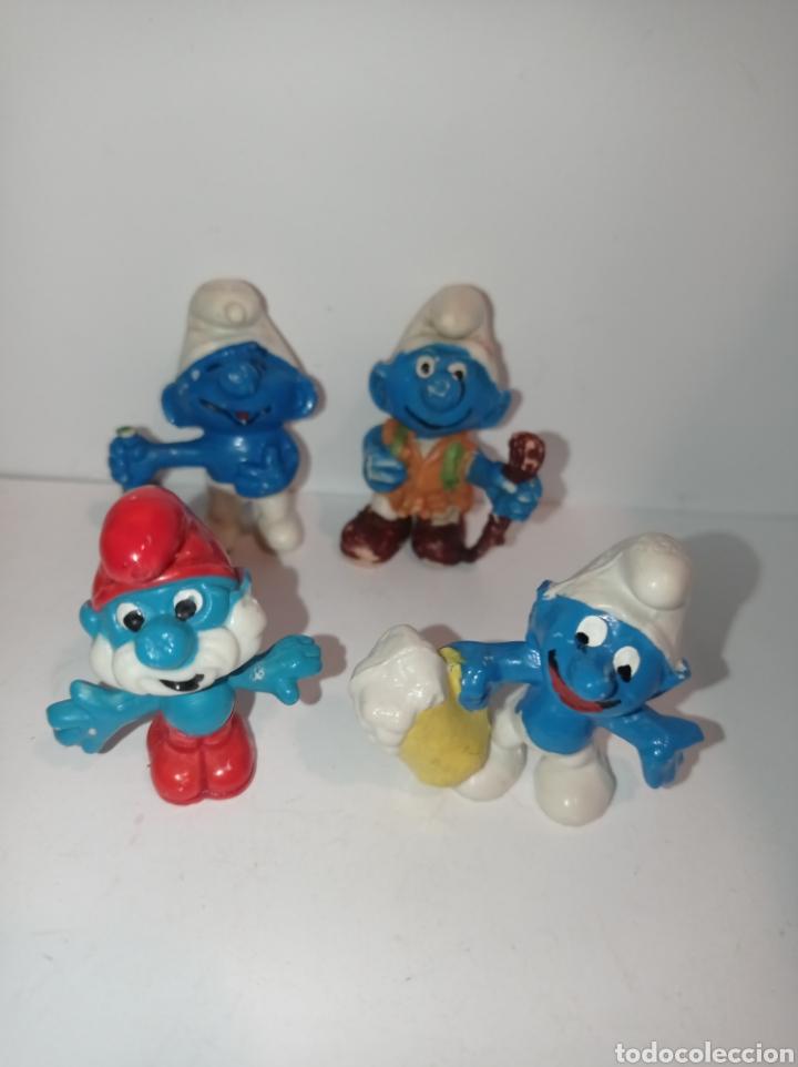 Figuras de Goma y PVC: Lote pitufos 01. Sin marcar - Foto 2 - 254452310