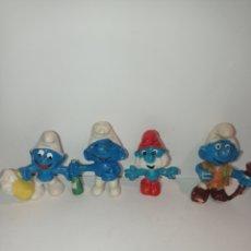 Figuras de Goma y PVC: LOTE PITUFOS 01. SIN MARCAR. Lote 254452310