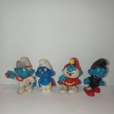 Figuras de Goma y PVC: LOTE PITUFOS 02. SIN MARCAR. Lote 254452905
