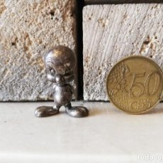 Figuras de Goma y PVC: DUNKIN WARNER LOONEY TUNES PIOLIN TWEETY RARO FIGURA DUNKIN KAUGUMMI FIGUREN AÑOS 80. Lote 254453310