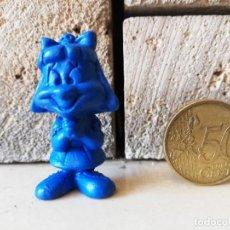 Figuras de Goma y PVC: DUNKIN WARNER LOONEY TUNES ELMYRA AZUL RARO GIGANTE FIGURA DUNKIN KAUGUMMI FIGUREN AÑOS 80. Lote 254453730