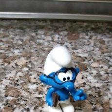 Figuras de Goma y PVC: PITUFO SABIONDO 2016 SCHLEICH. Lote 254460915
