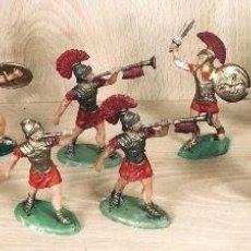 Figuras de Goma y PVC: GRANDES BATALLAS DEL MUNDO. ROMANOS CONTRA CARTAGINESES. PRINCIPES ROMANOS. GBM. AÑOS 60. Lote 254534690