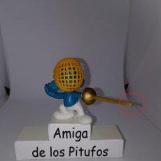 Figuras de Goma y PVC: PITUFO ESGRIMA - MIRA LAS FOTOS ( EL SABLE ) - PEYO - SCHLEICH. Lote 254540615