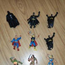 Figuras de Goma y PVC: FIGURAS SUPERHEROES. Lote 254565465
