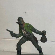 Figuras de Goma y PVC: SOLDADO VAQUERO - PECH, GOMA AÑOS 50. Lote 254584055