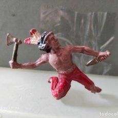 Figuras de Goma y PVC: INDIO LAFREDO AÑOS 50 GOMA DIFÍCIL. Lote 254588700