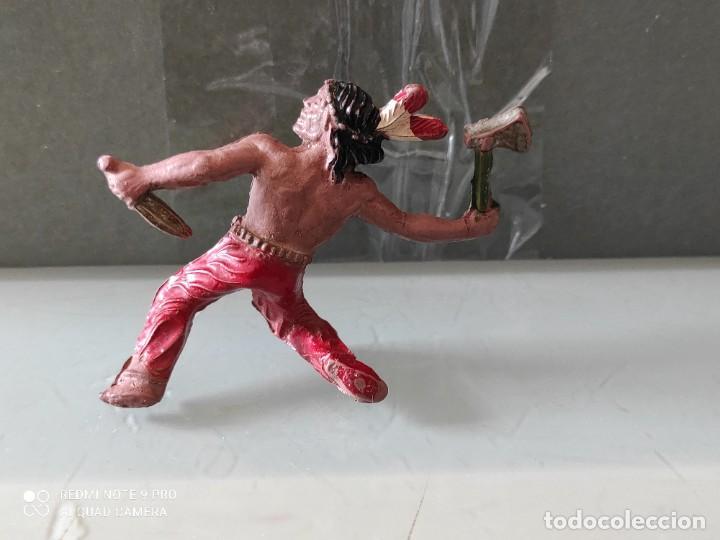Figuras de Goma y PVC: Indio lafredo años 50 goma difícil - Foto 2 - 254588700