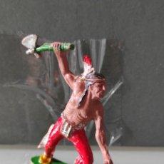 Figuras de Goma y PVC: INDIO LAFREDO AÑOS 50 GOMA DIFÍCIL. Lote 254589410