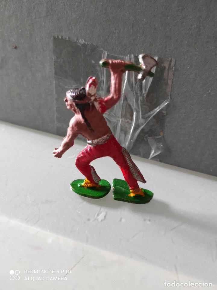 Figuras de Goma y PVC: Indio lafredo años 50 goma difícil - Foto 2 - 254589410