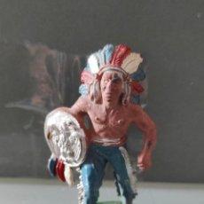 Figuras de Goma y PVC: INDIO LAFREDO AÑOS 50 GOMA DIFÍCIL. Lote 254590005