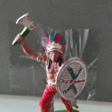 Figuras de Goma y PVC: INDIO LAFREDO AÑOS 50 GOMA DIFÍCIL. Lote 254590440