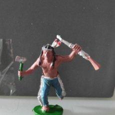 Figuras de Goma y PVC: INDIO LAFREDO AÑOS 50 GOMA DIFÍCIL. Lote 254590705