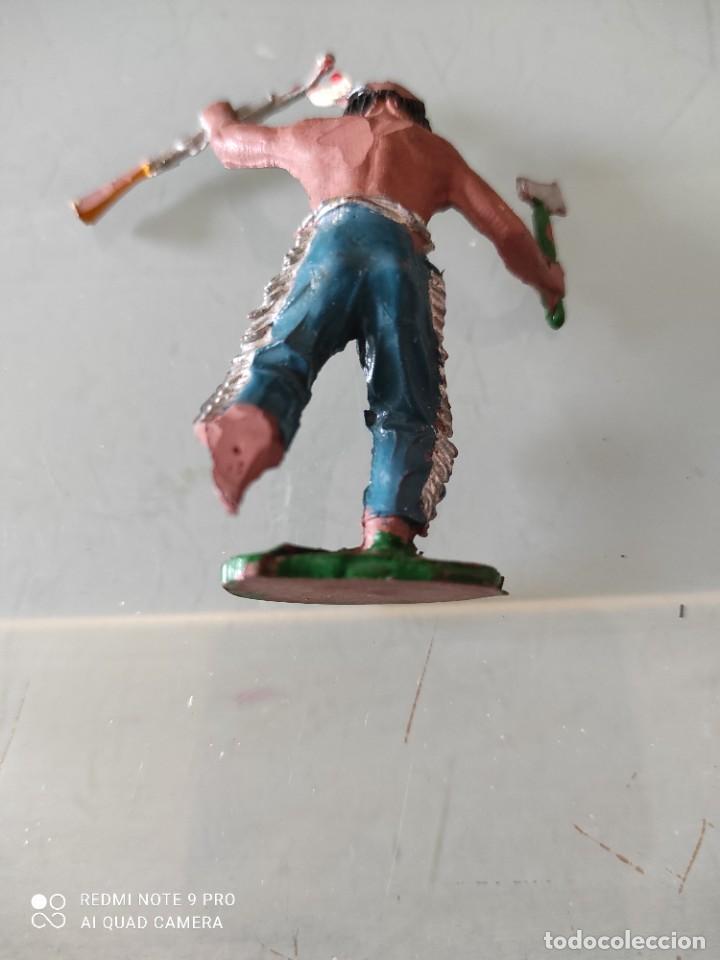 Figuras de Goma y PVC: Indio lafredo años 50 goma difícil - Foto 3 - 254590705