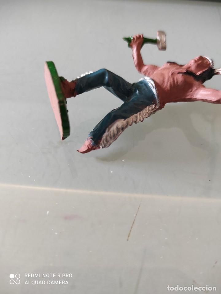 Figuras de Goma y PVC: Indio lafredo años 50 goma difícil - Foto 4 - 254590705