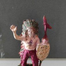 Figuras de Goma y PVC: INDIO LAFREDO AÑOS 50 GOMA DIFÍCIL. Lote 254591175