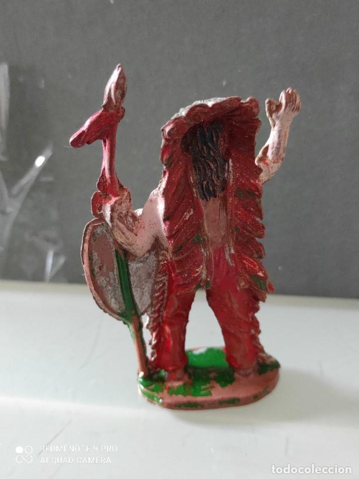 Figuras de Goma y PVC: Indio lafredo años 50 goma difícil - Foto 2 - 254591175
