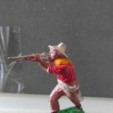 Figuras de Goma y PVC: VAQUERO LAFREDO AÑOS 50 GOMA DIFÍCIL. Lote 254591920