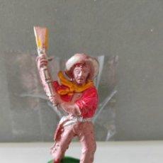 Figuras de Goma y PVC: VAQUERO LAFREDO AÑOS 50 GOMA DIFÍCIL. Lote 254592210