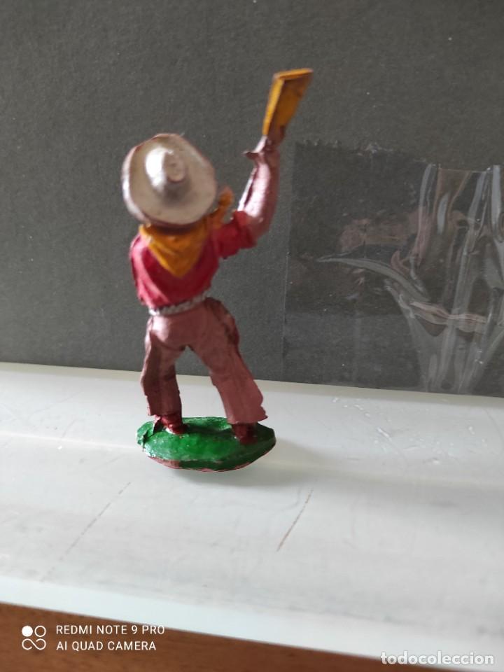 Figuras de Goma y PVC: Vaquero lafredo años 50 goma difícil - Foto 2 - 254592210