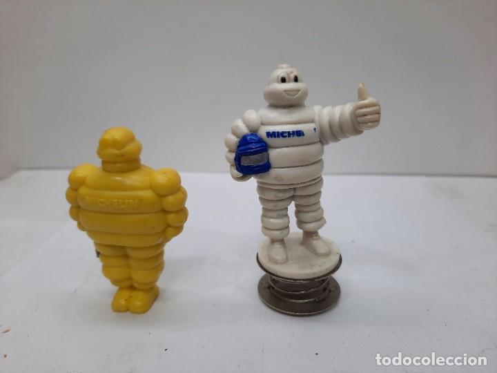 Figuras de Goma y PVC: MICHELIN 2 FIGURAS , UNA ES UN METRO Y LA OTRA PARA ENGANCHAR EN EL COCHE O DONDE QUIERAS!!! - Foto 2 - 254594410