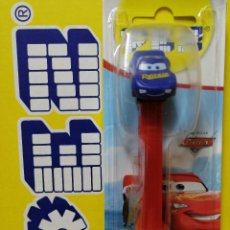 Dispensador Pez: DISPENSADOR DE CARAMELOS PEZ ( CARS 2021 ) NUEVO EN BLISTER. Lote 254595515