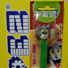 Dispensador Pez: DISPENSADOR DE CARAMELOS PEZ ( TOM Y JERRY 2021 ) NUEVO EN BLISTER. Lote 254595880