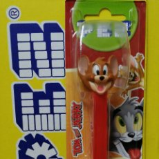 Dispensador Pez: DISPENSADOR DE CARAMELOS PEZ ( TOM Y JERRY 2021 ) NUEVO EN BLISTER. Lote 254595970