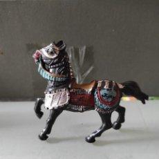 Figuras de Goma y PVC: VAQUEROS INDIOS LAFREDO PLÁSTICO CABALLO L PECH EXPLORADORES CABO RUSTY. Lote 254606110