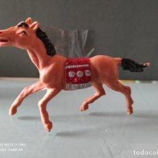 Figuras de Goma y PVC: VAQUEROS INDIOS LAFREDO PLÁSTICO CABALLO L PECH EXPLORADORES CABO RUSTY. Lote 254606355