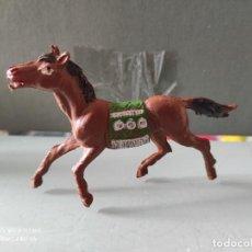 Figuras de Goma y PVC: VAQUEROS INDIOS LAFREDO PLÁSTICO CABALLO L PECH EXPLORADORES CABO RUSTY. Lote 254606585