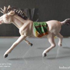 Figuras de Goma y PVC: VAQUEROS INDIOS LAFREDO PLÁSTICO CABALLO L PECH EXPLORADORES CABO RUSTY. Lote 254606745