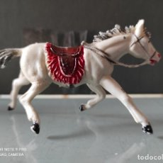 Figuras de Borracha e PVC: VAQUEROS INDIOS LAFREDO PLÁSTICO CABALLO L PECH EXPLORADORES CABO RUSTY. Lote 254607015